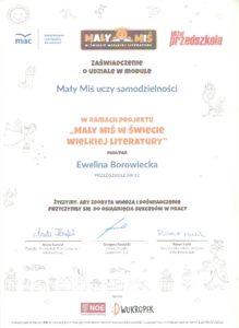 Przedszkole 12 Mysłowice Bolesława Prusa 5 Strona 6
